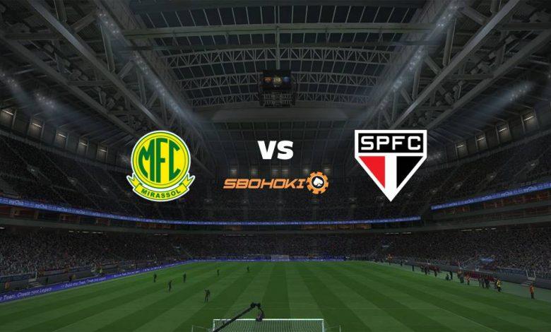 Live Streaming Mirassol vs So Paulo 25 April 2021 1