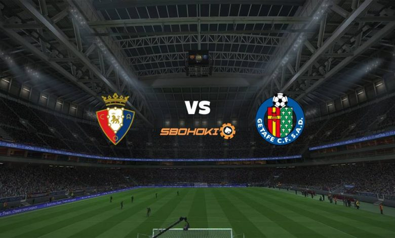 Live Streaming Osasuna vs Getafe 3 April 2021 1