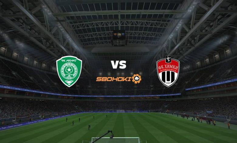 Live Streaming Akhmat Grozny vs FC Khimki 17 April 2021 1