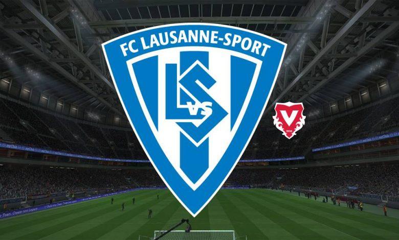Live Streaming Lausanne Sports vs FC Vaduz 18 April 2021 1