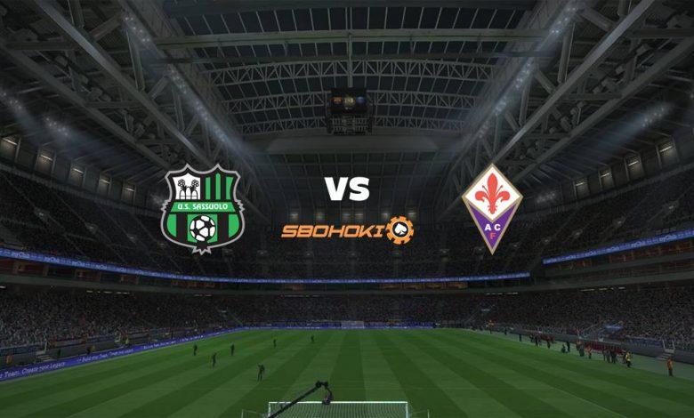 Live Streaming Sassuolo vs Fiorentina 17 April 2021 1