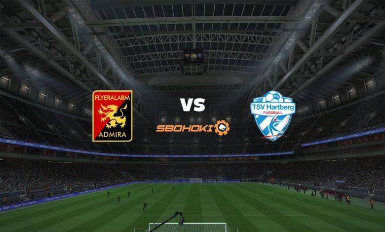 Live Streaming FC Admira Wacker Modling vs TSV Hartberg 17 April 2021 1