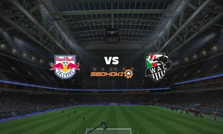 Live Streaming FC Salzburg vs Wolfsberger 28 April 2021 1