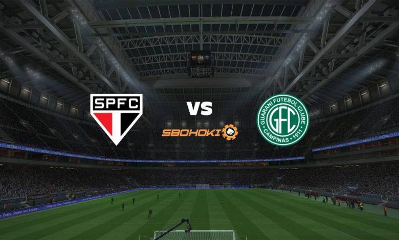 Live Streaming So Paulo vs Guarani 15 April 2021 1