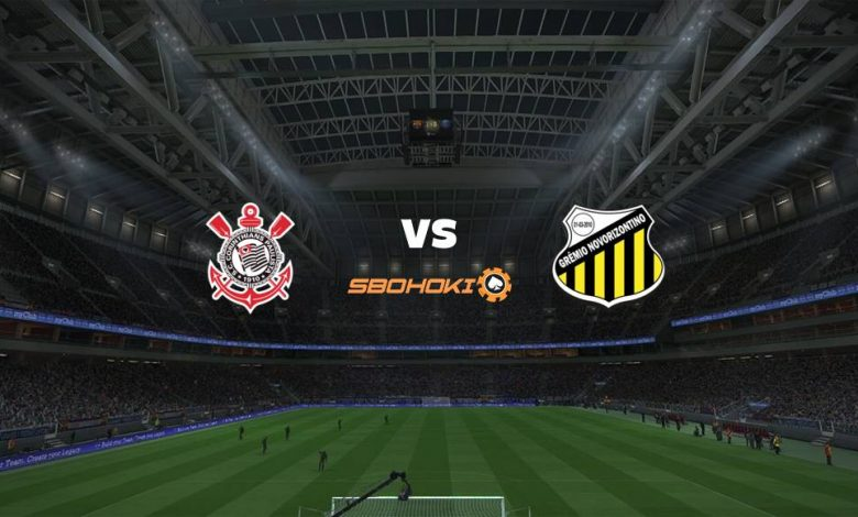 Live Streaming Corinthians vs Novorizontino 25 April 2021 1
