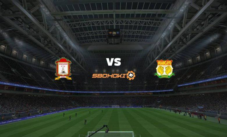 Live Streaming Ayacucho FC vs Sport Huancayo 4 April 2021 1