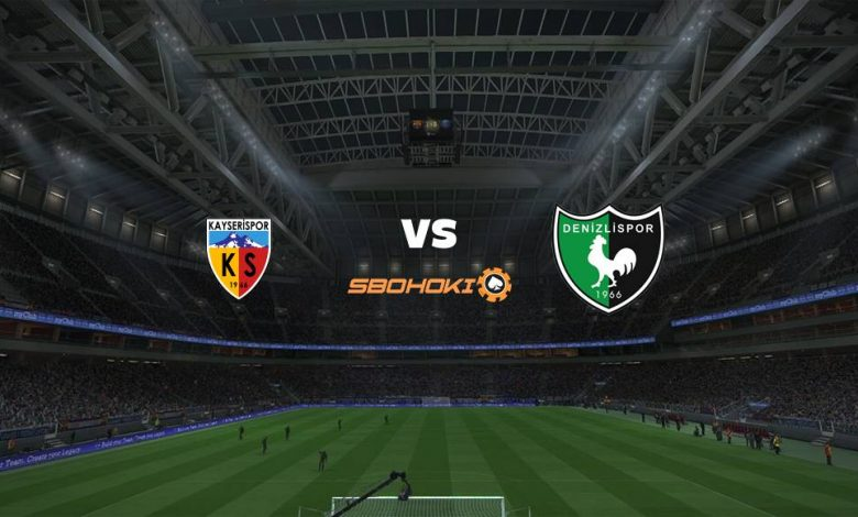 Live Streaming Kayserispor vs Denizlispor 28 April 2021 1