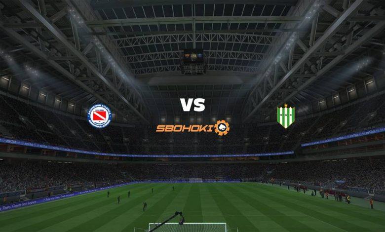 Live Streaming Argentinos Juniors vs Banfield 24 April 2021 1