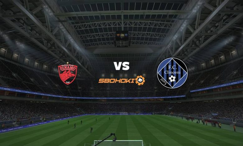 Live Streaming Dinamo Bucuresti vs Academica Clinceni 9 April 2021 1