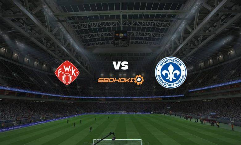 Live Streaming Wrzburger Kickers vs SV Darmstadt 98 20 April 2021 1