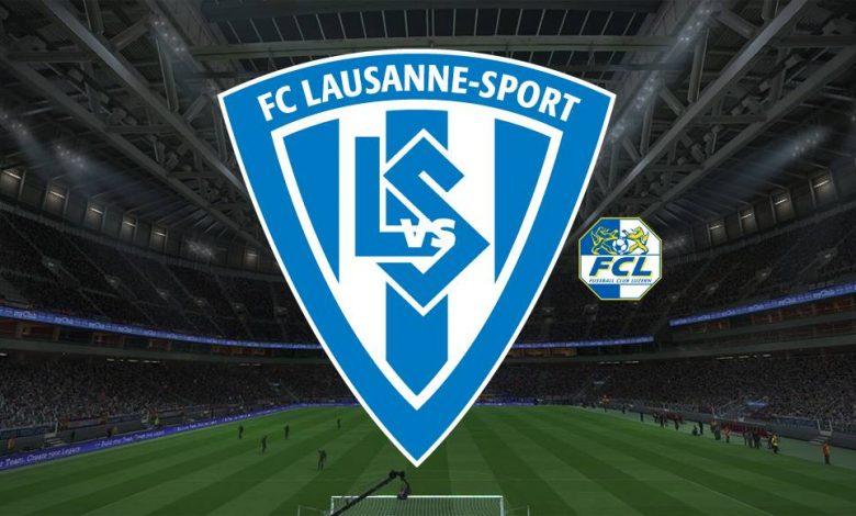 Live Streaming Lausanne Sports vs FC Luzern 3 April 2021 1