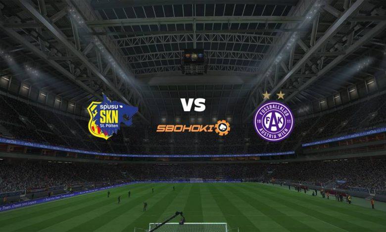 Live Streaming St. Plten vs Austria Vienna 17 April 2021 1