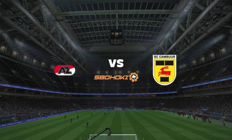 Live Streaming Jong AZ vs SC Cambuur 23 April 2021 1