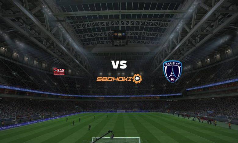 Live Streaming  Guingamp vs Paris FC 24 April 2021 1