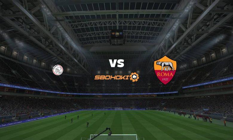 Live Streaming Ajax Amsterdam vs Roma 8 April 2021 1