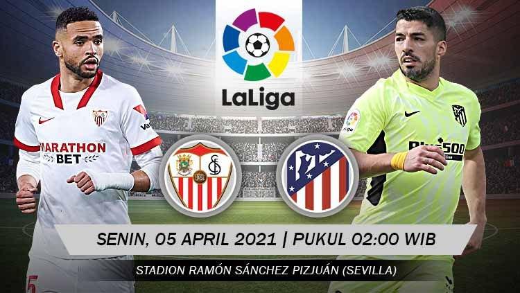 Prediksi Sevilla vs Atletico Madrid: Laga Menjaga Tahta La Liga 1
