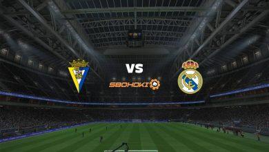 Photo of Live Streaming  Cádiz vs Real Madrid 21 April 2021
