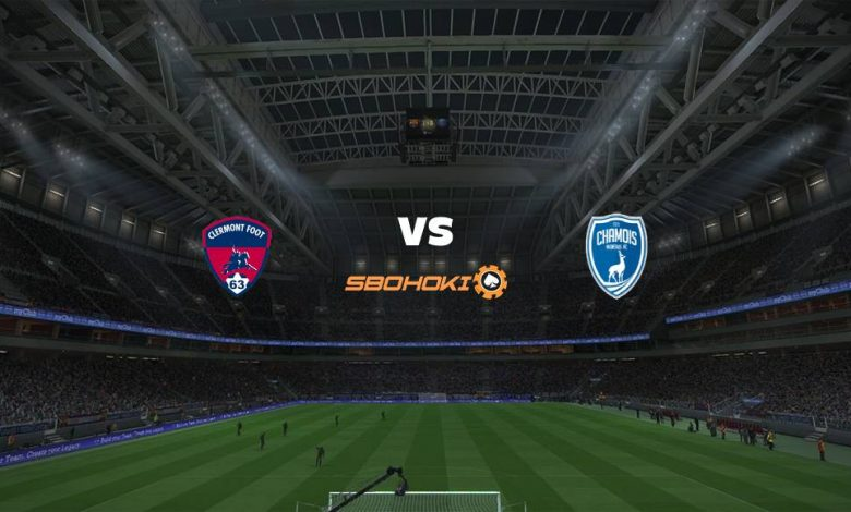 Live Streaming Clermont Foot vs Niort 3 April 2021 1