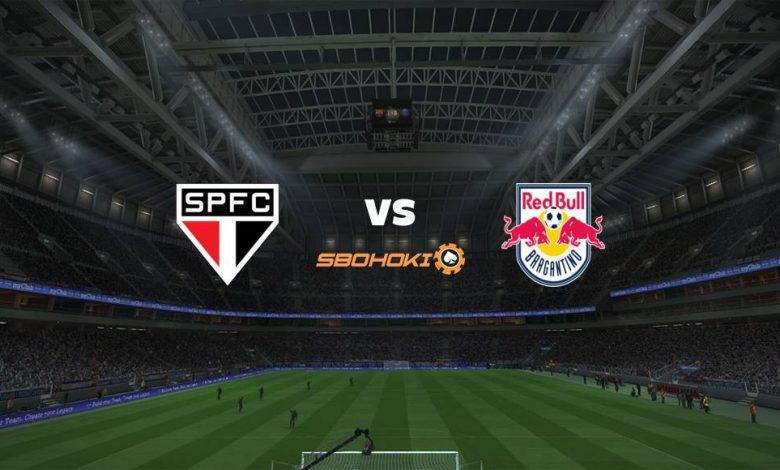 Live Streaming So Paulo vs Red Bull Bragantino 12 April 2021 1