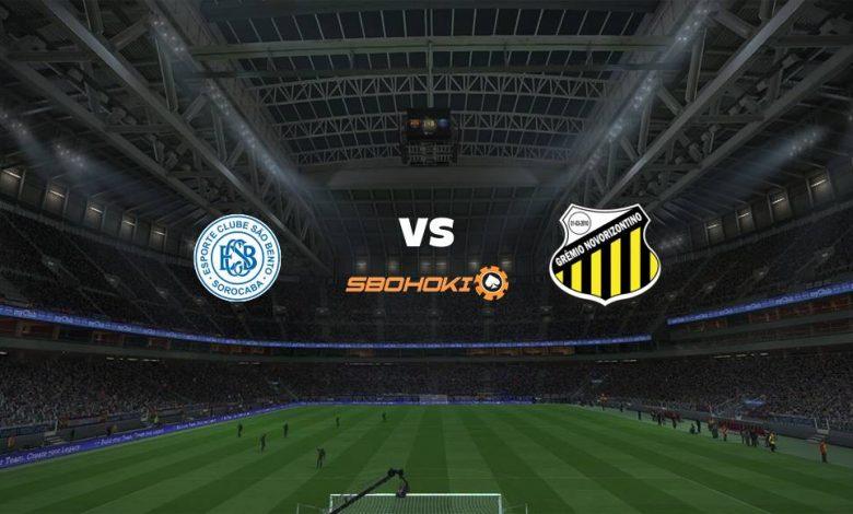 Live Streaming So Bento vs Novorizontino 28 April 2021 1