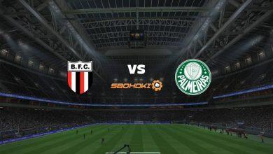 Photo of Live Streaming  Botafogo SP vs Palmeiras 18 April 2021