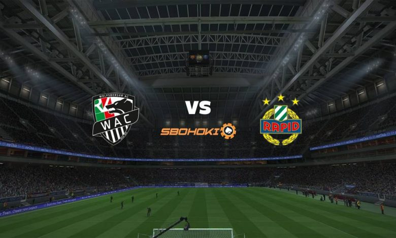 Live Streaming Wolfsberger vs Rapid Vienna 4 April 2021 1