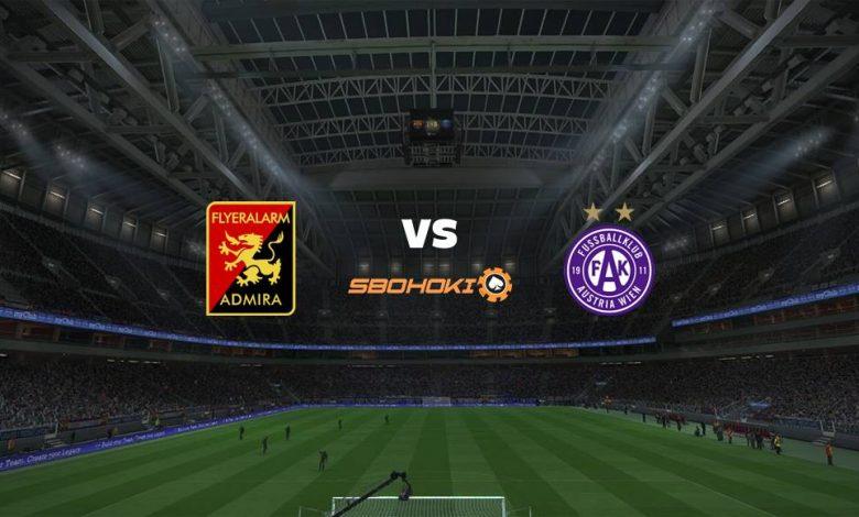 Live Streaming FC Admira Wacker Modling vs Austria Vienna 24 April 2021 1
