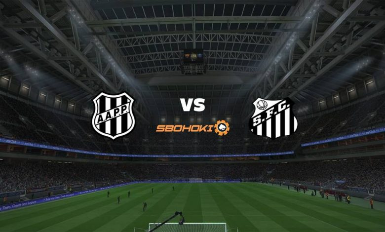 Live Streaming Ponte Preta vs Santos 16 April 2021 1