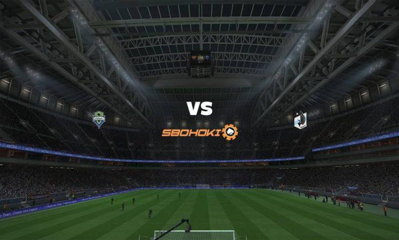 Live Streaming Seattle Sounders FC vs Minnesota United FC 17 April 2021 1