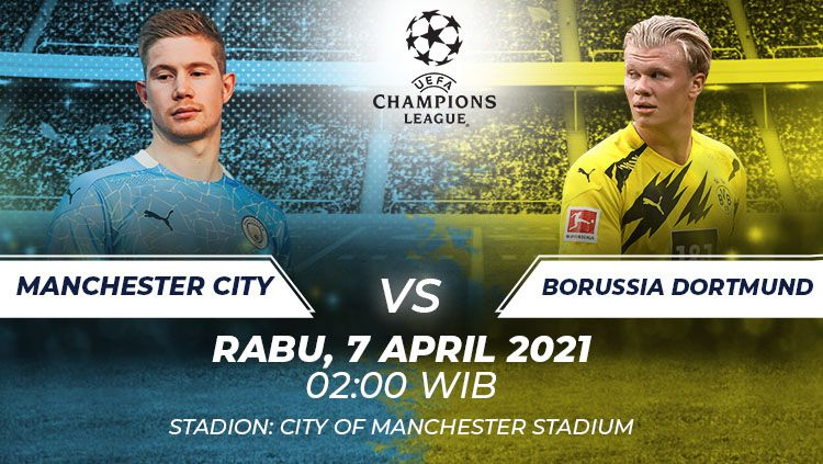 Prediksi Bola Manchester City vs Borussia Dortmund: Adu Tangkas Bintang Muda 1