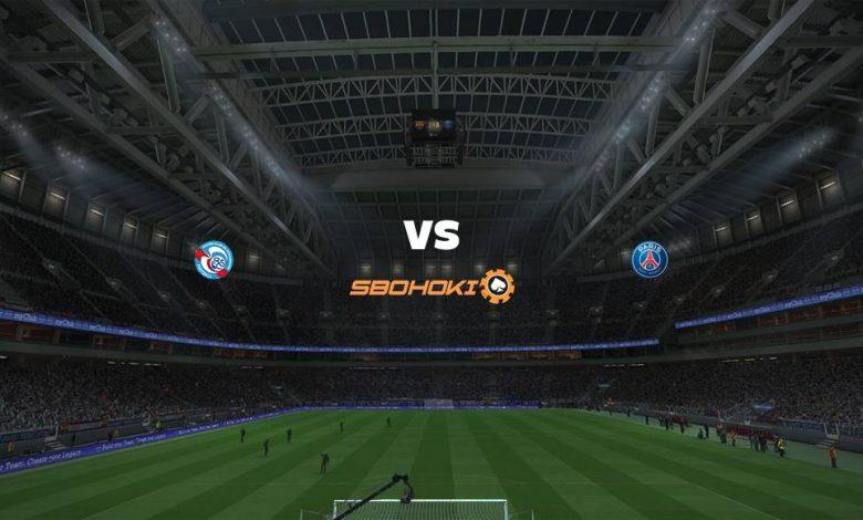 Live Streaming Strasbourg vs Paris Saint-Germain 10 April 2021 1