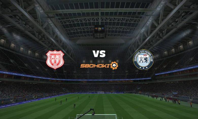 Live Streaming Tcnico Universitario vs Guayaquil City FC 4 April 2021 1