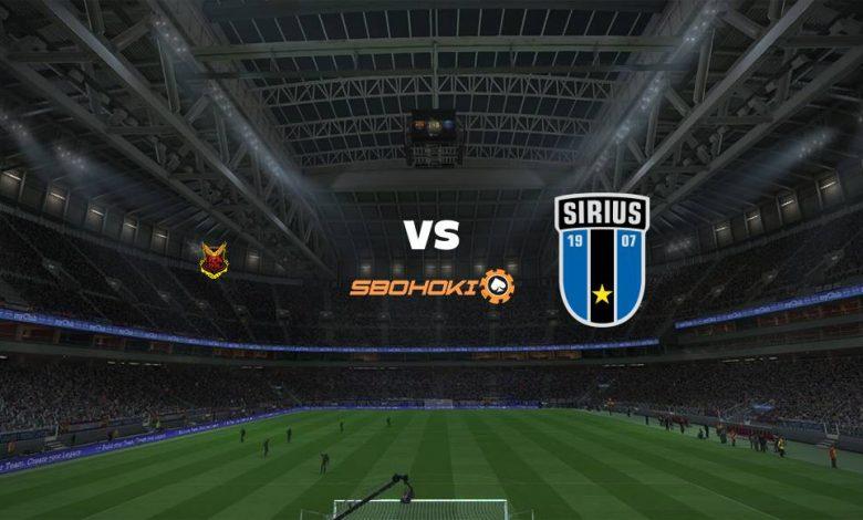 Live Streaming stersunds FK vs Sirius 22 Mei 2021 1