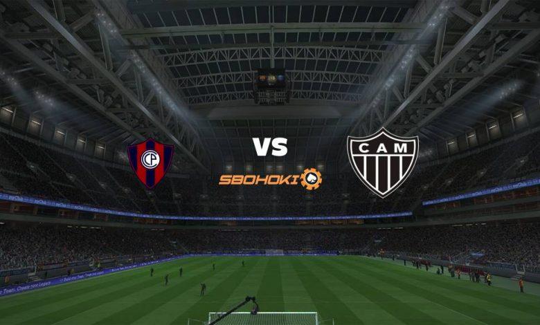 Live Streaming Cerro Porteo vs Atltico-MG 20 Mei 2021 1