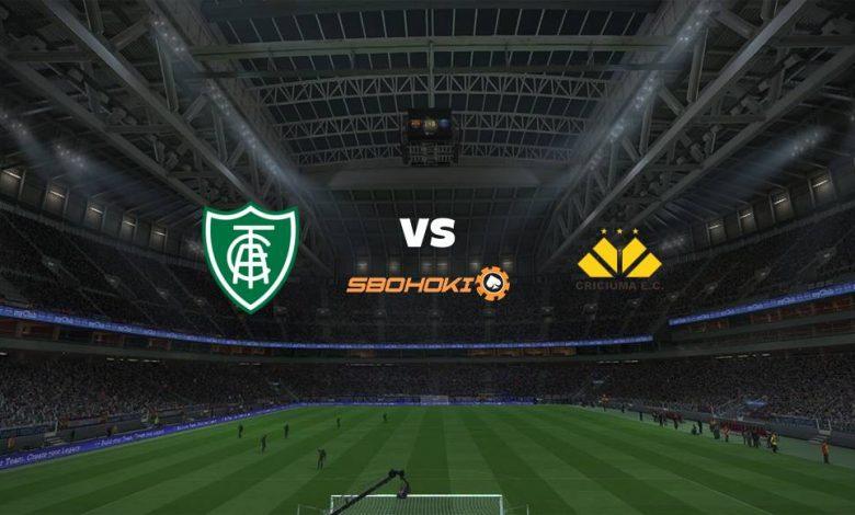Live Streaming Amrica-MG vs Cricima 20 Mei 2021 1