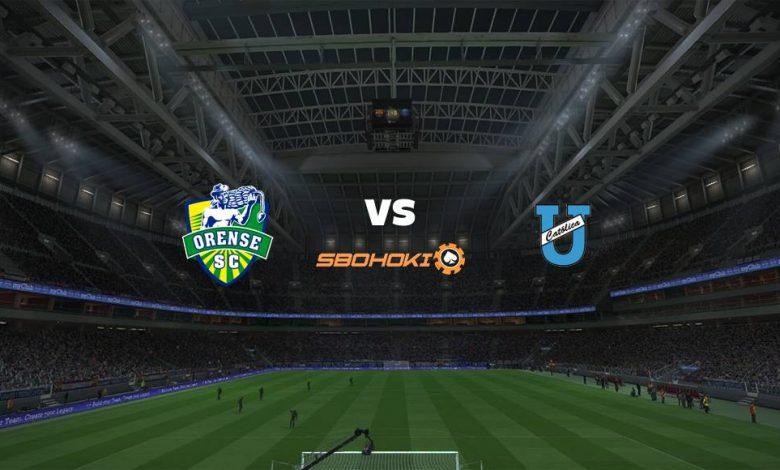 Live Streaming Orense vs Universidad Catlica (Quito) 22 Mei 2021 1