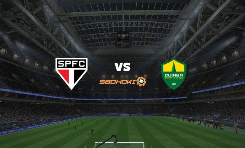 Live Streaming  São Paulo vs Cuiabá 24 Juni 2021 1