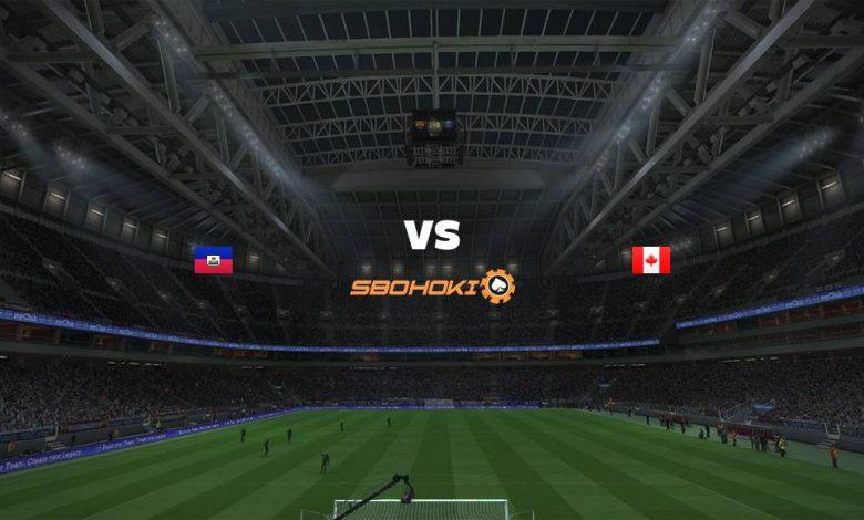 Live Streaming  Haiti vs Canada 12 Juni 2021 1