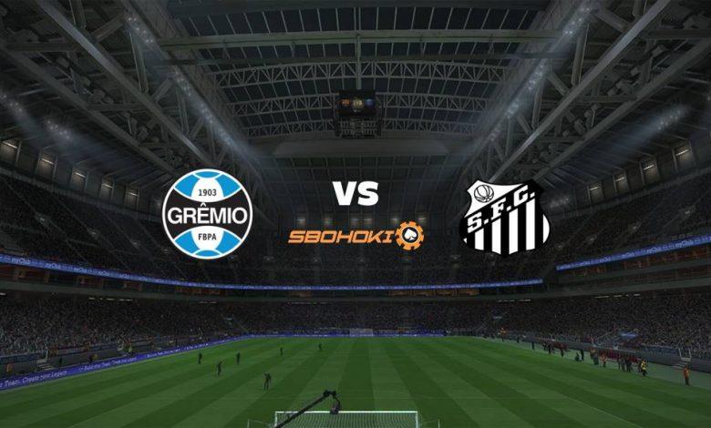 Live Streaming Grmio vs Santos 23 Juni 2021 1