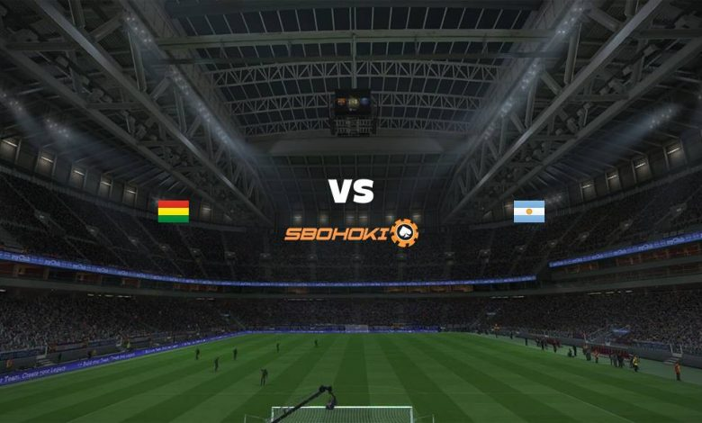 Live Streaming Bolivia vs Argentina 29 Juni 2021 1