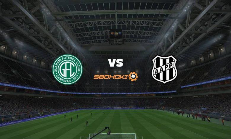 Live Streaming Guarani vs Ponte Preta 19 Juni 2021 1