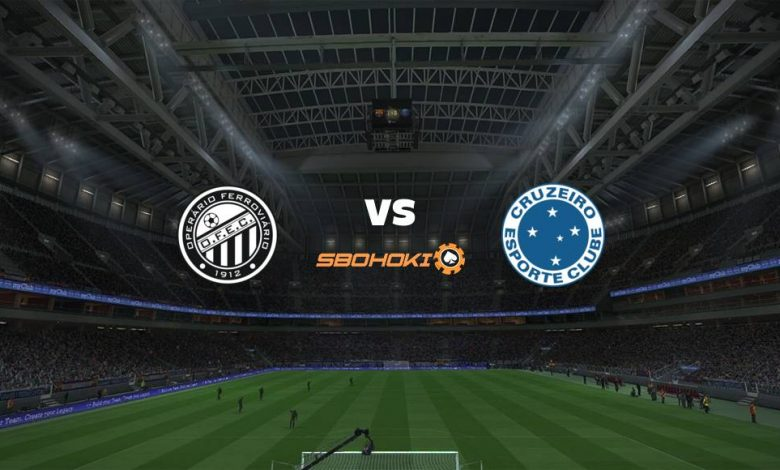 Live Streaming Operario PR vs Cruzeiro 19 Juni 2021 1