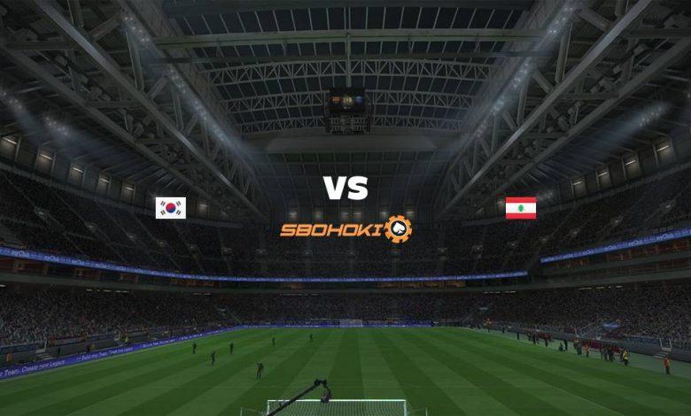 Live Streaming  South Korea vs Lebanon 13 Juni 2021 1