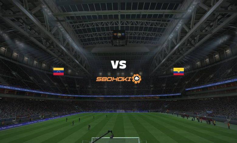 Live Streaming Venezuela vs Ecuador 20 Juni 2021 1