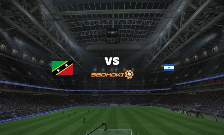 Live Streaming  St. Kitts and Nevis vs El Salvador 12 Juni 2021 1