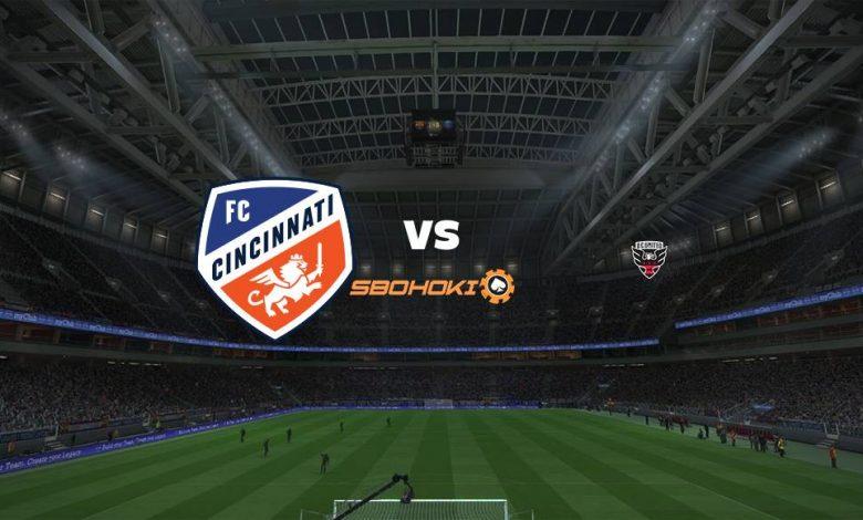 Live Streaming FC Cincinnati vs DC United 31 Juli 2021 1