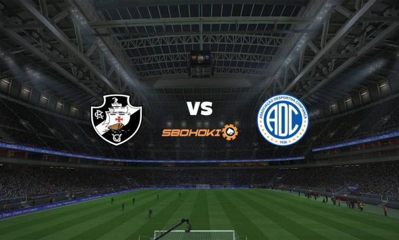 Live Streaming  Vasco da Gama vs Confiança 4 Juli 2021 1