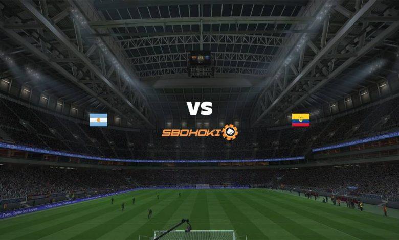 Live Streaming  Argentina vs Ecuador 4 Juli 2021 1