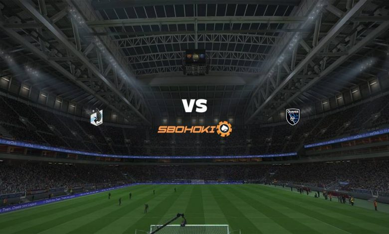 Live Streaming  Minnesota United FC vs San Jose Earthquakes 4 Juli 2021 1