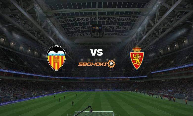 Live Streaming Valencia vs Real Zaragoza 28 Juli 2021 1